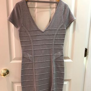 Wow Couture silver bodycon dress